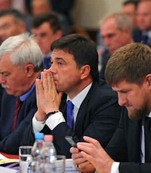В.Путин выступил на семинаре для для глав регионов РФ